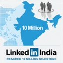 10 Million Indian Professionals on LinkedIn