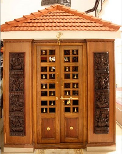 Shridesk why do we have a pooja room at our home for Interior door designs india